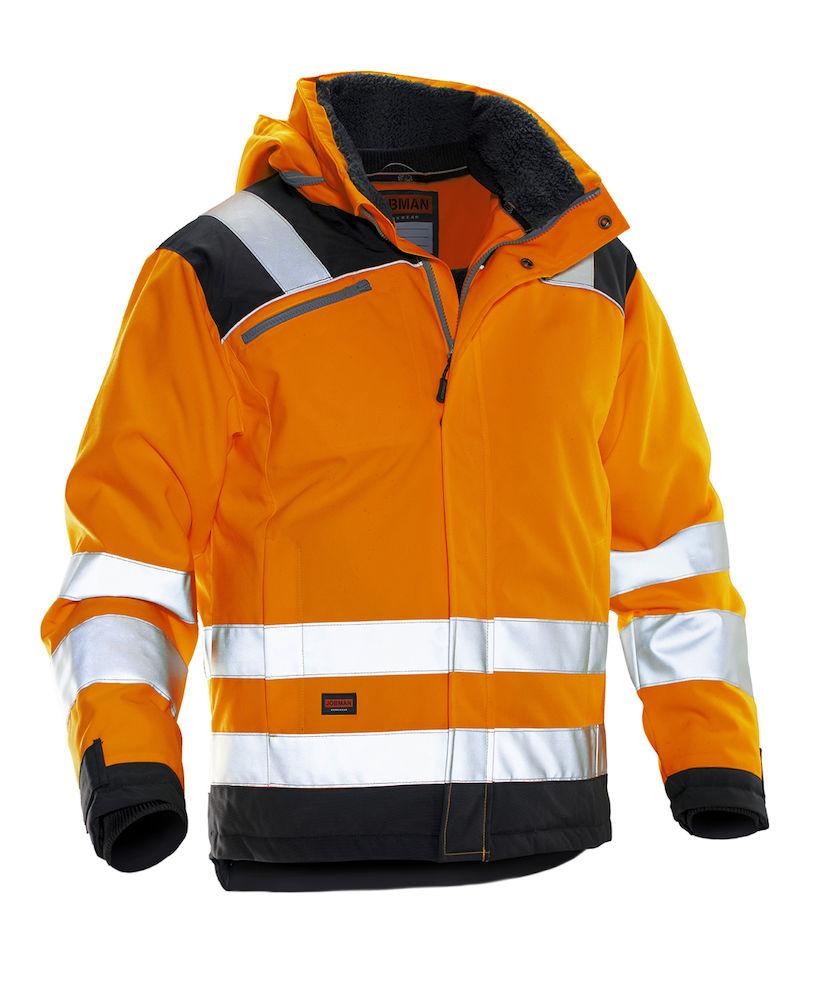 Jobman Talvitakit black/orange