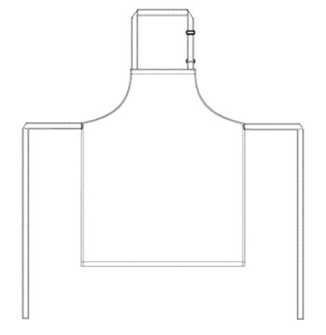 Suutarin esiliina Basic 4 malli