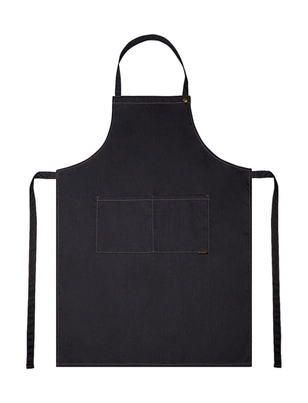 Suutarin esiliina Denim, Vintage musta