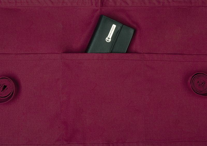 Lyhyt taskullinen esiliina Basic 3
