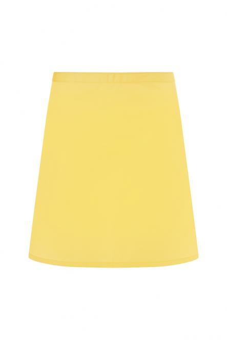 Lyhyt esiliina Basic 2 Yellow