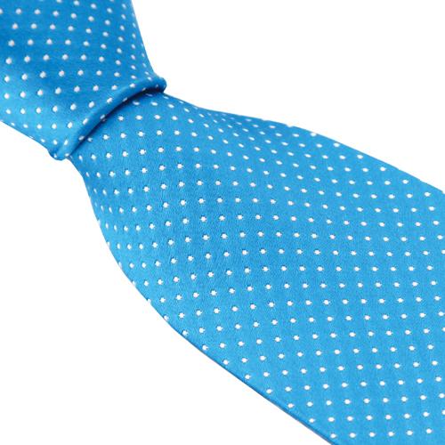 Medium Blue Silkkisolmio Dot