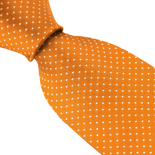 Oranssi Silkkisolmio Dot