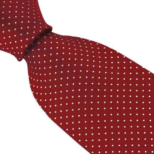 Punainen Silkkisolmio Dot