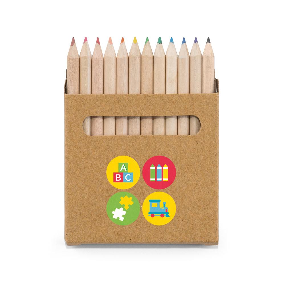 Värikynät Coloured omalla logolla
