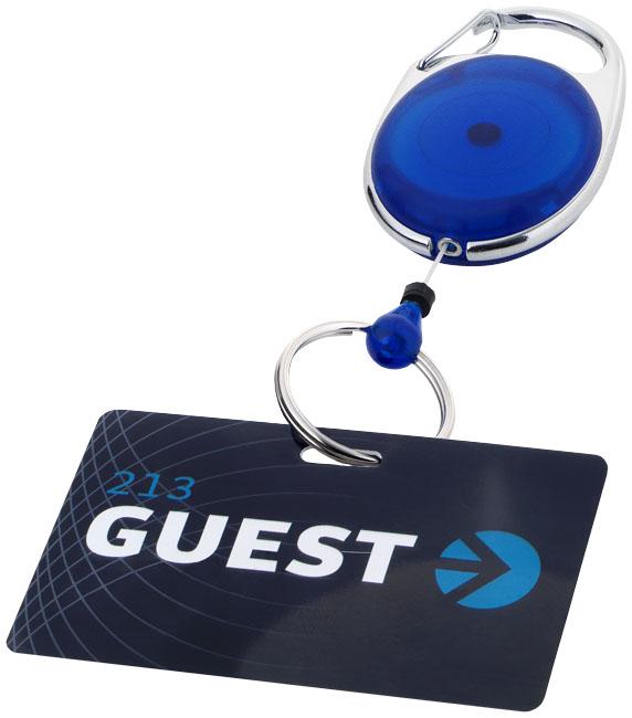 Korttijojo avainrenkaalla sininen