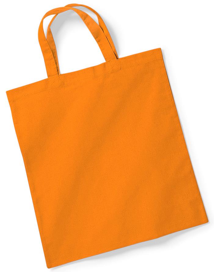 Puuvillakassi Oranssi