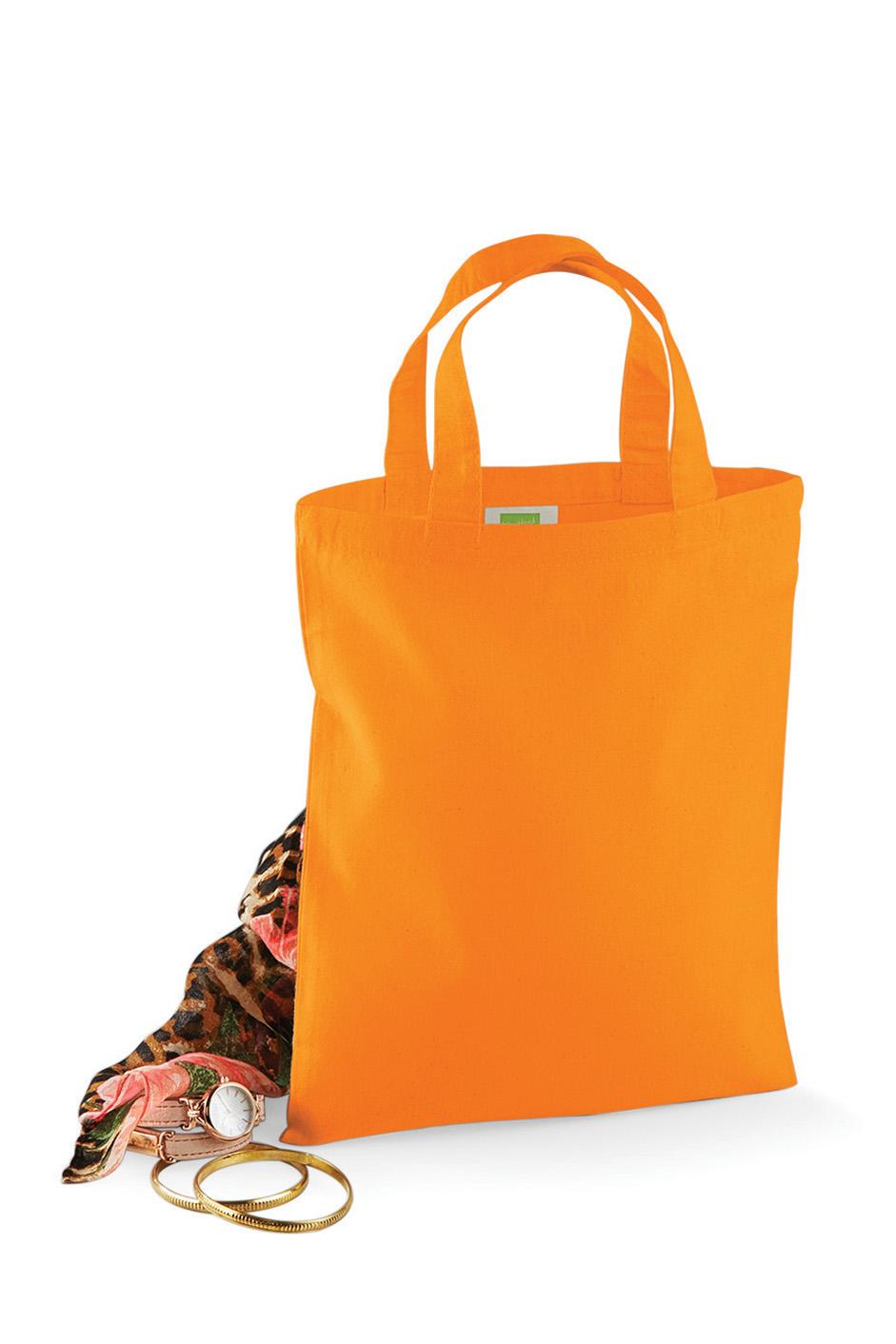 Pieni Puuvillakassi 4 L Oranssi
