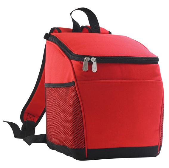 Iso Backpack -kylmäreppu punainen
