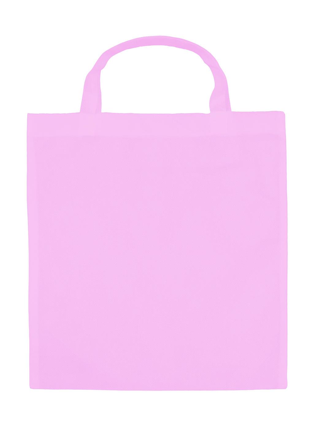 Kuitukangaskassi Basic Vaaleanpunainen