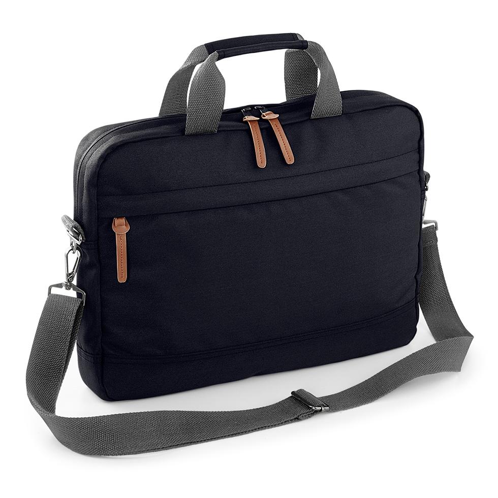 Campus läppärilaukku, musta