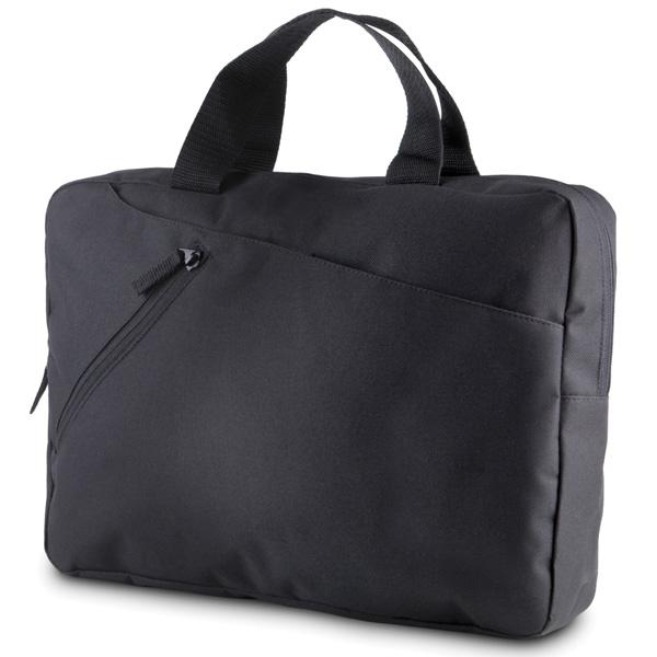 Asiakirjalaukku Musta
