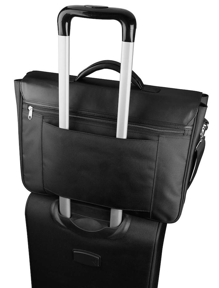 Tietokone- ja asiakirjalaukku + vetolaukku
