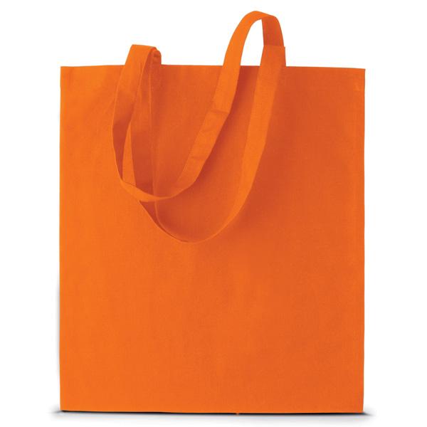 Puuvillakassi Ki0223 oranssi