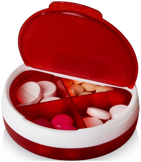 Pilleriarasia Olivia punainen