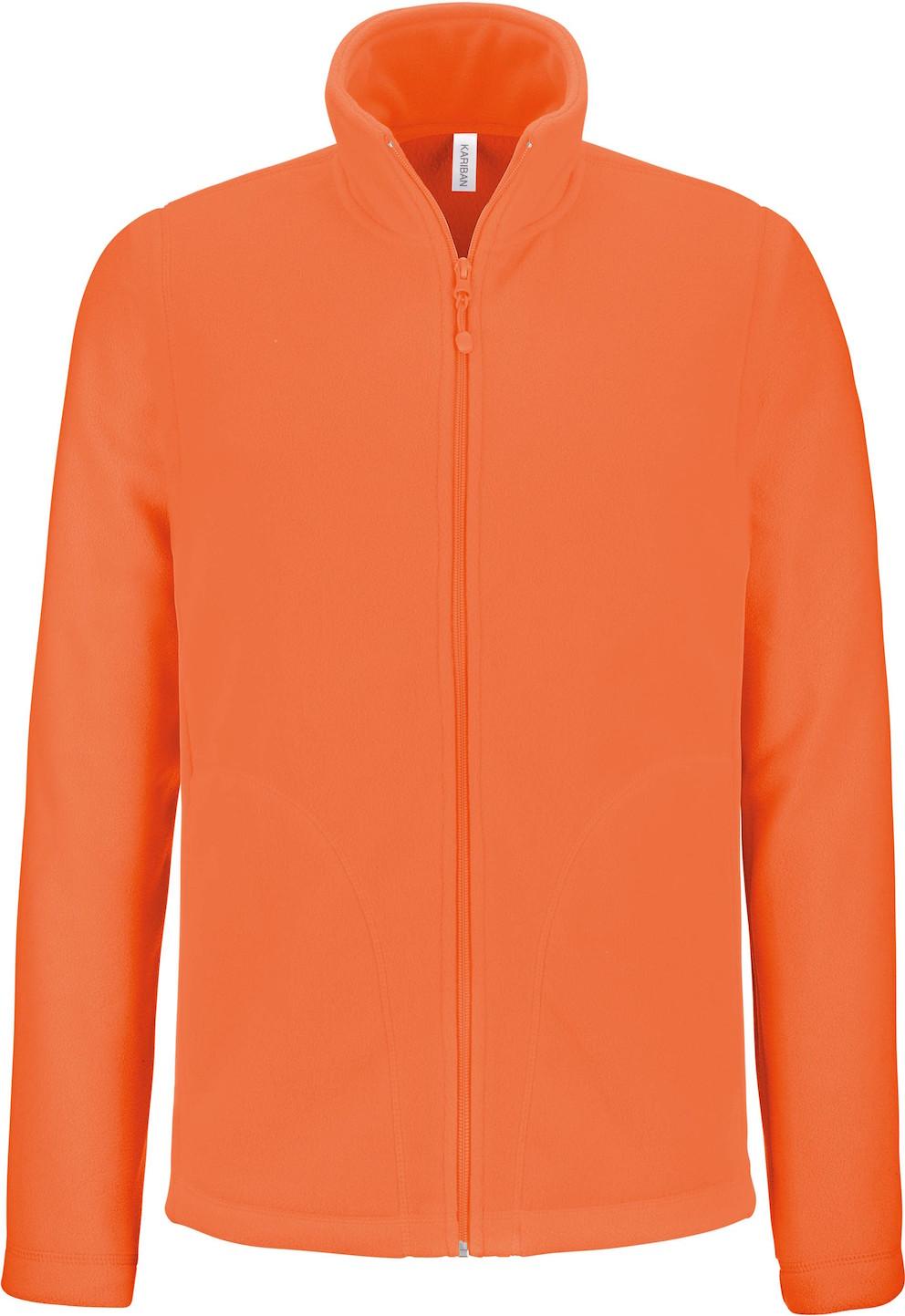 Microfleecetakki K911 Huomio-oranssi