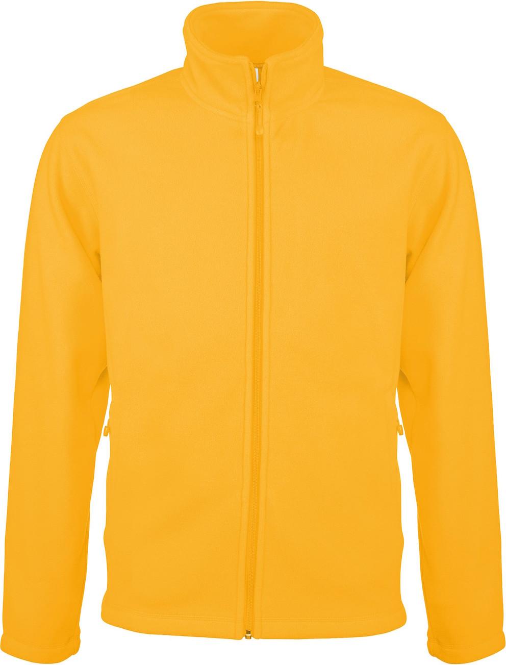 Microfleecetakki K911 Yellow