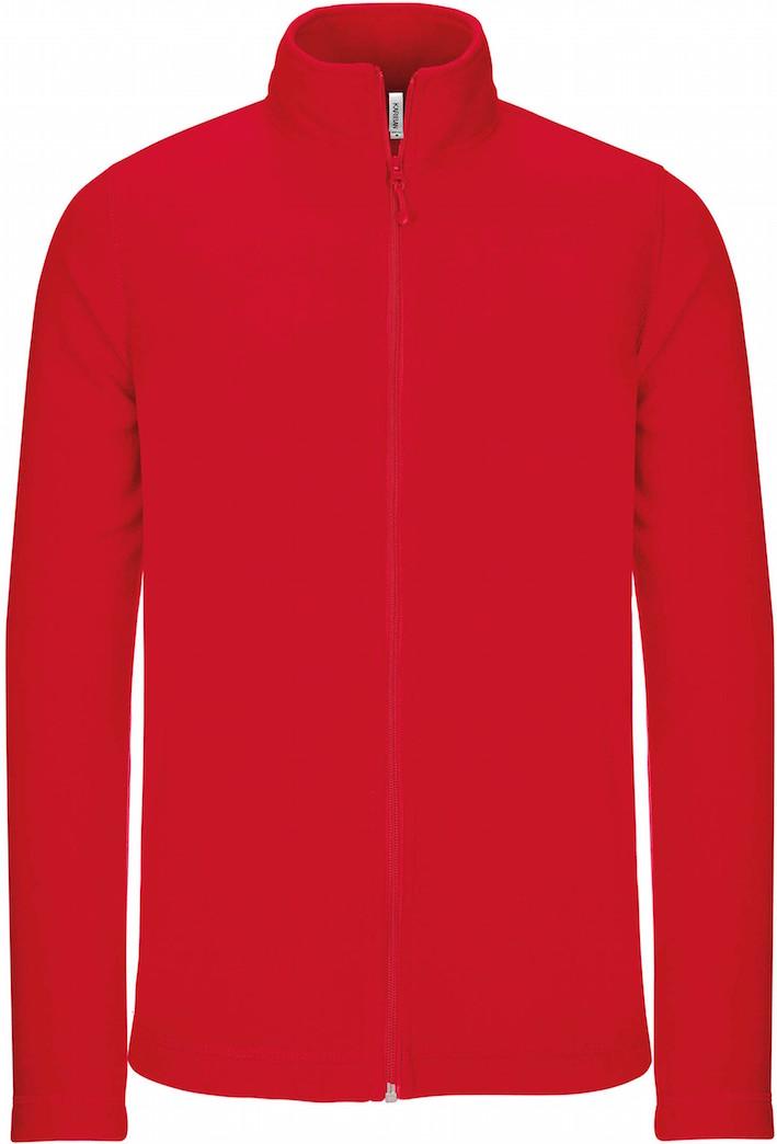 Fleecetakki K9102 Punainen