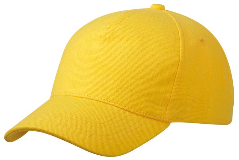Heavy Cotton Mainoslippis Keltainen