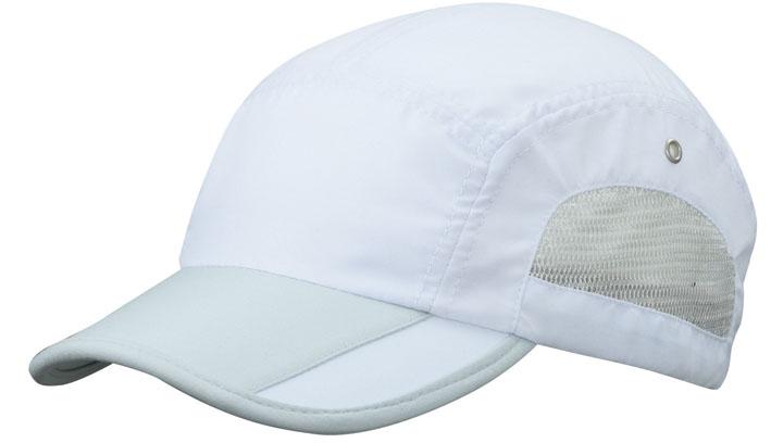 Urheilullinen lippalakki Valkoinen/vaaleanharmaa