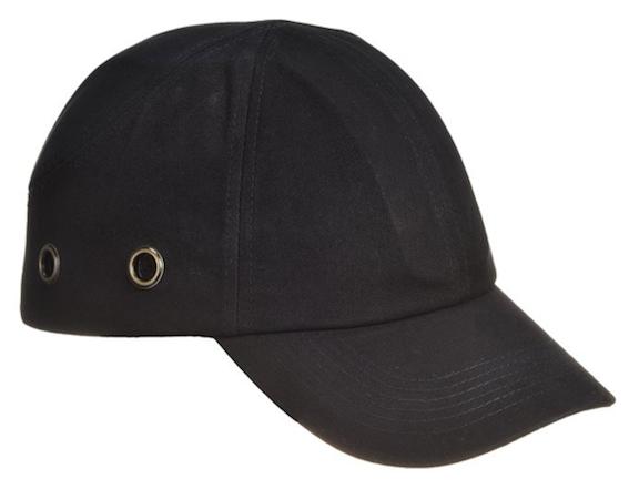 Kolhulippis Bump Cap, musta
