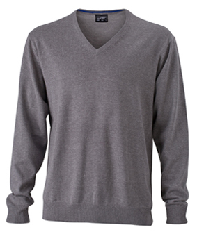 Miesten puuvillaneule Heather grey
