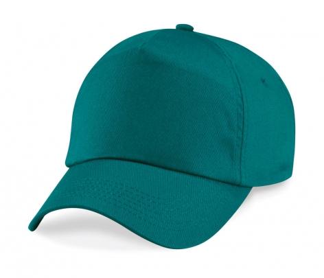 5-paneelinen lippis Twill >Emerald