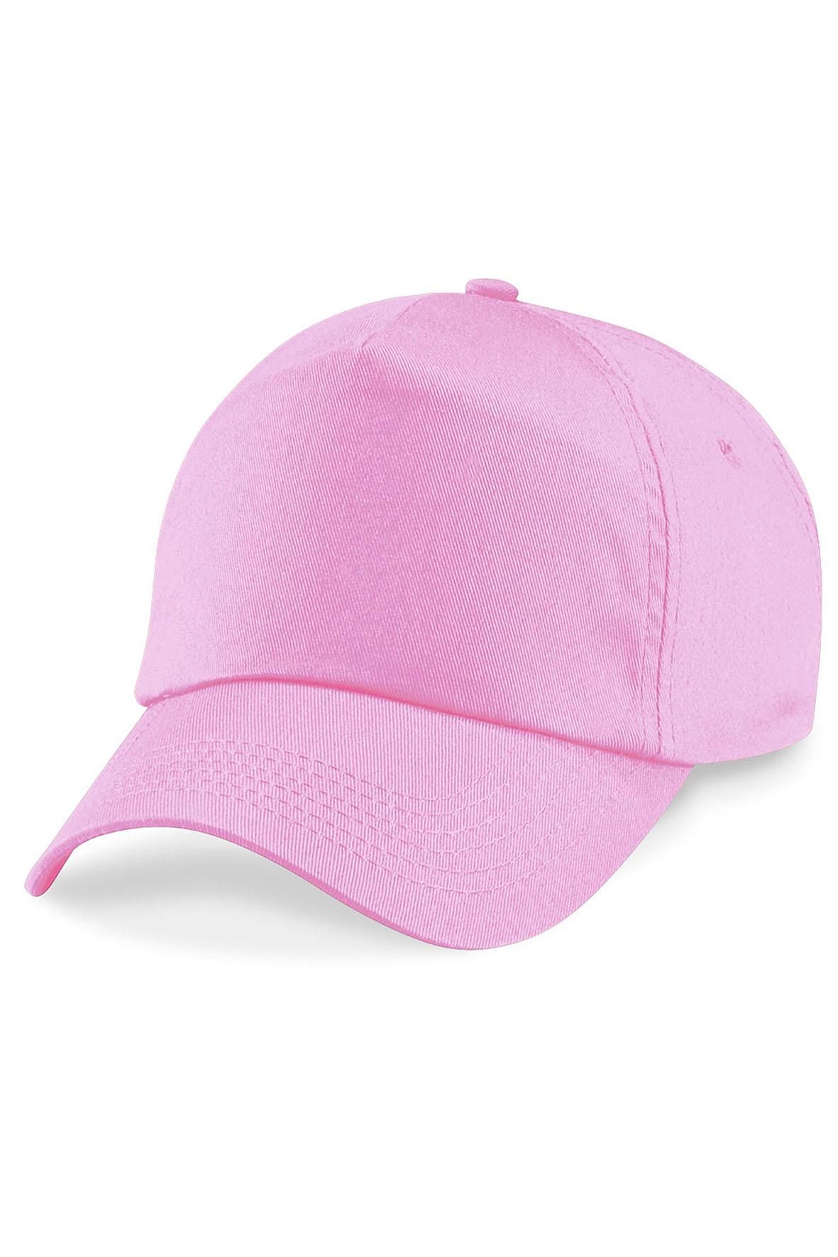 Twill 5-Paneelilippis Classic Pink