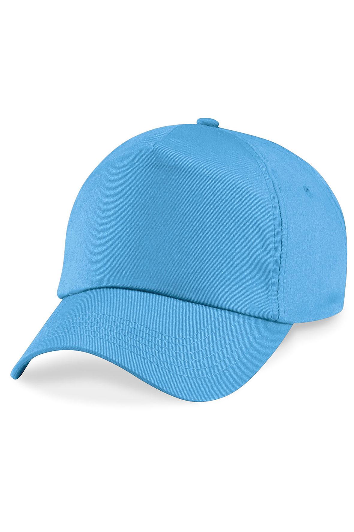 Twill 5-Paneelilippis Surf Blue