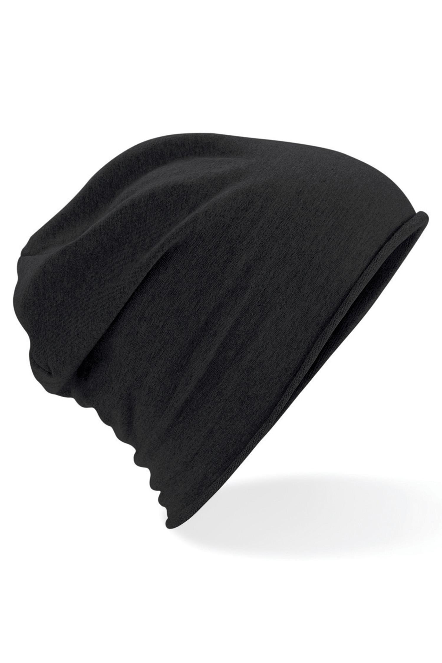 Jersey Beanie Trikoopipo Musta
