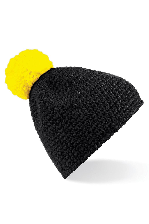 Slopeside Pipo Musta Keltainen