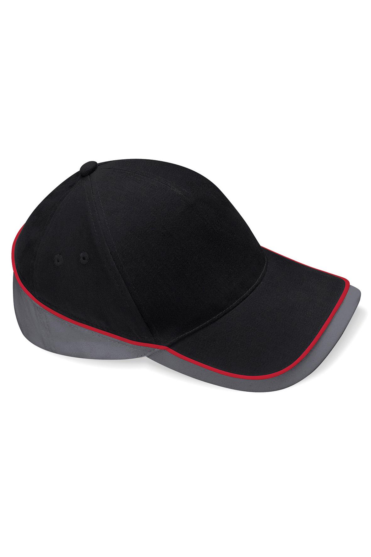 Teamwear Lippis Musta - Grafiitti - Classic Red