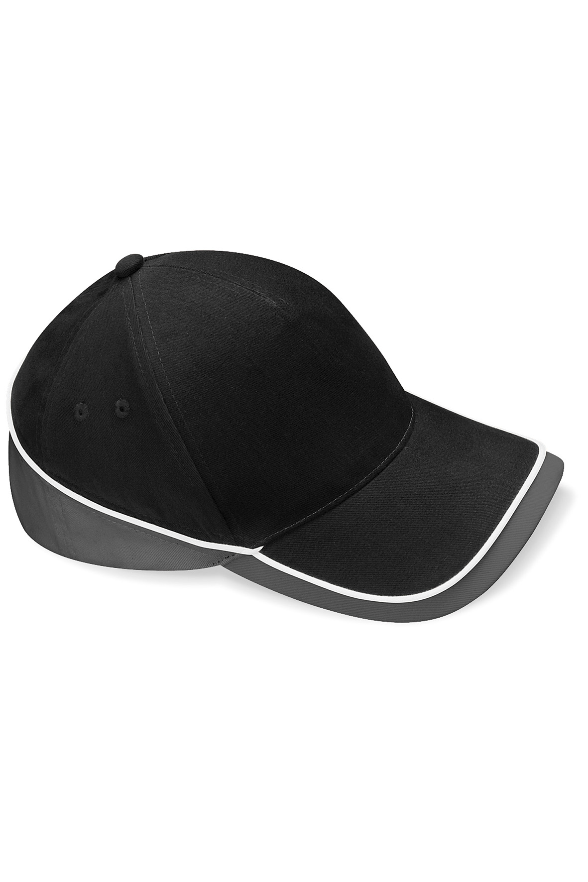 Teamwear Lippis Musta - Grafiitti - Valkoinen