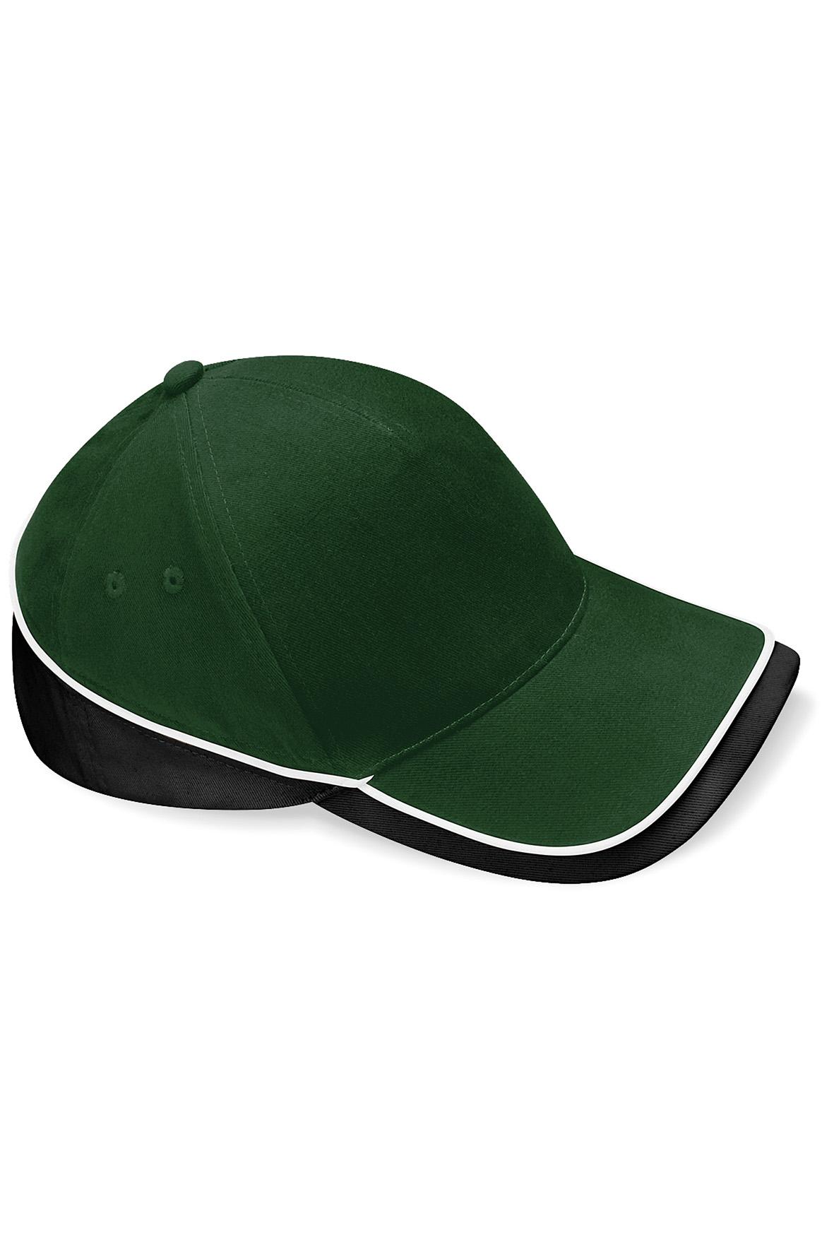 Teamwear Lippis Pullonvihreä - Musta - Valkoinen