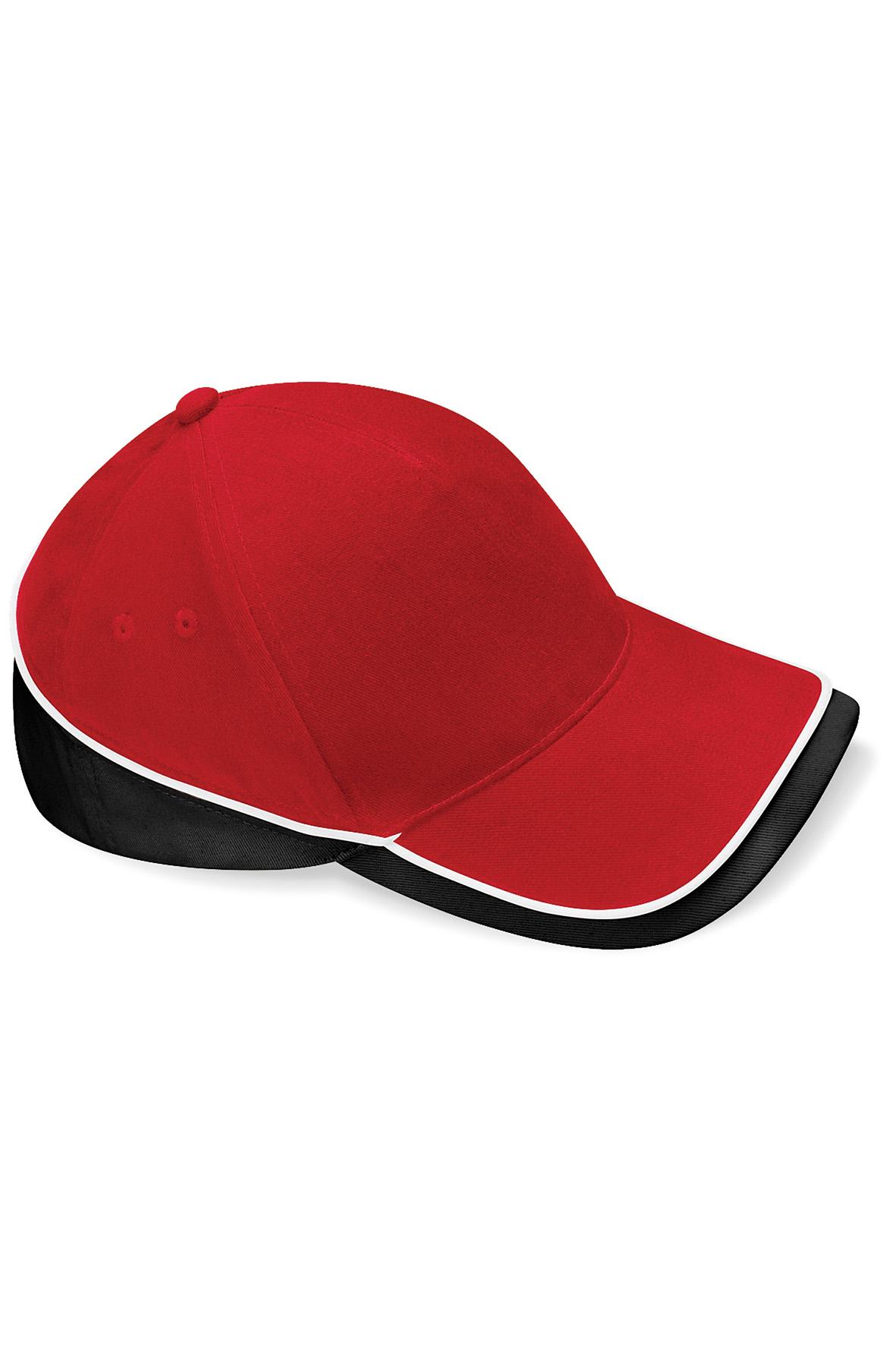 Teamwear Lippis Classic Red - Musta - Valkoinen