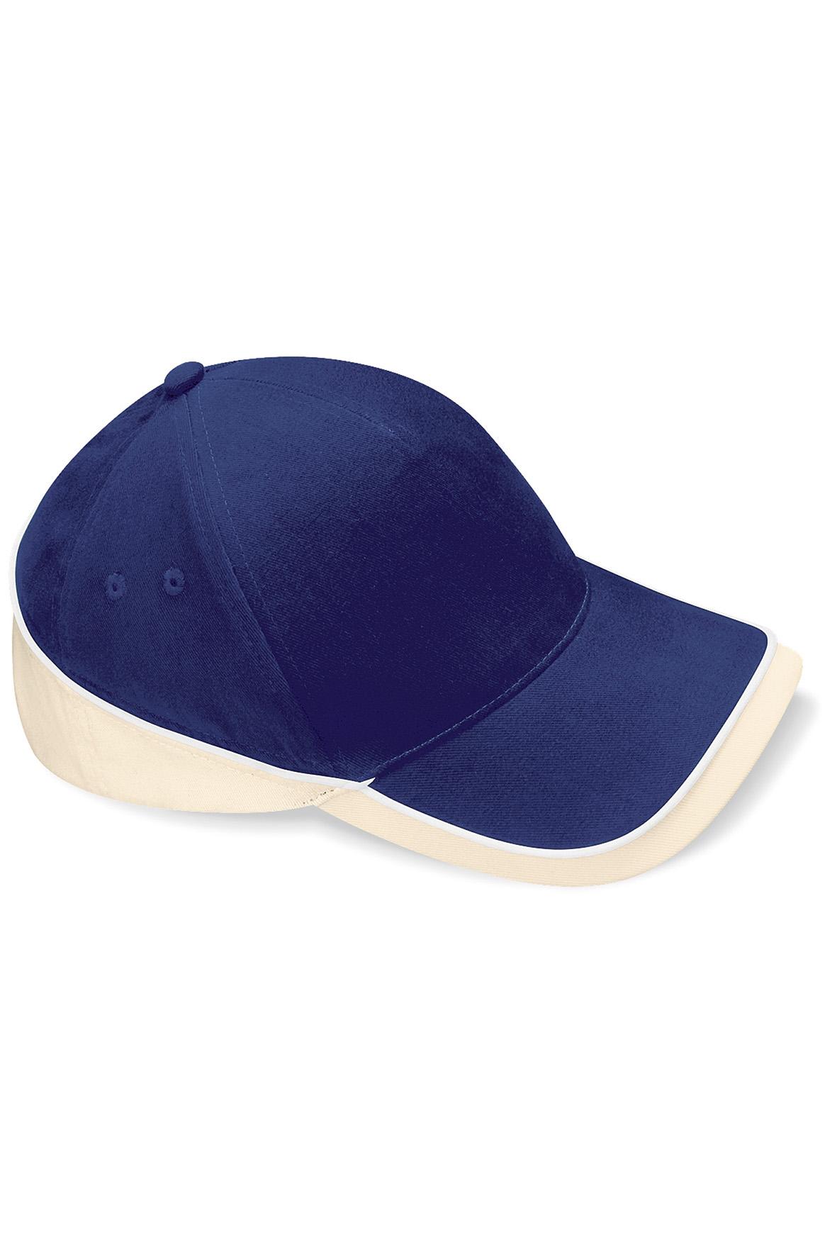 Teamwear Lippis French Navy - Putty - Valkoinen