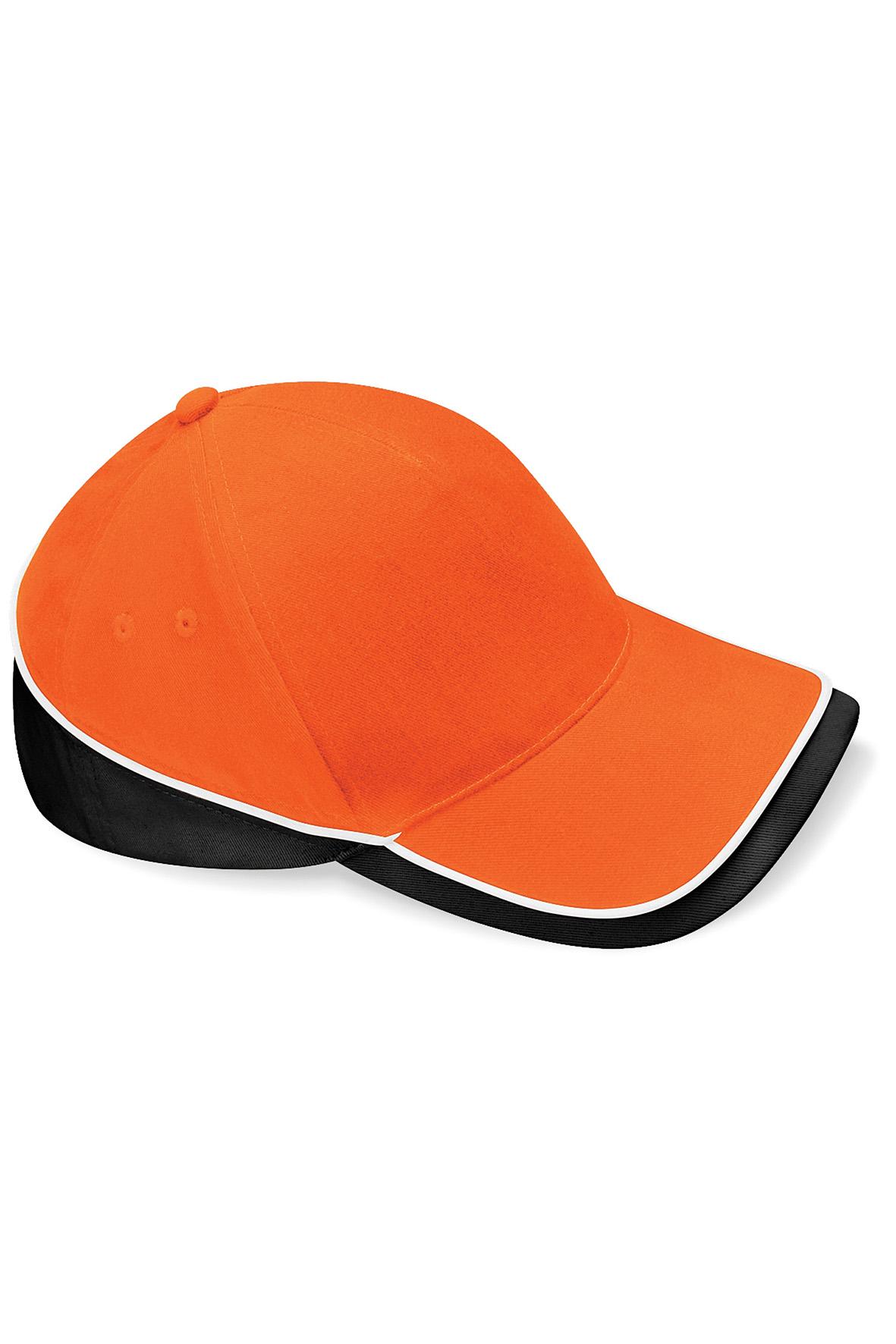 Teamwear Lippis Oranssi - Musta - Valkoinen