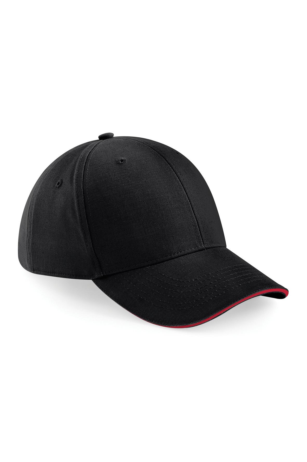 Athleisure Lippis Musta - Classic Red