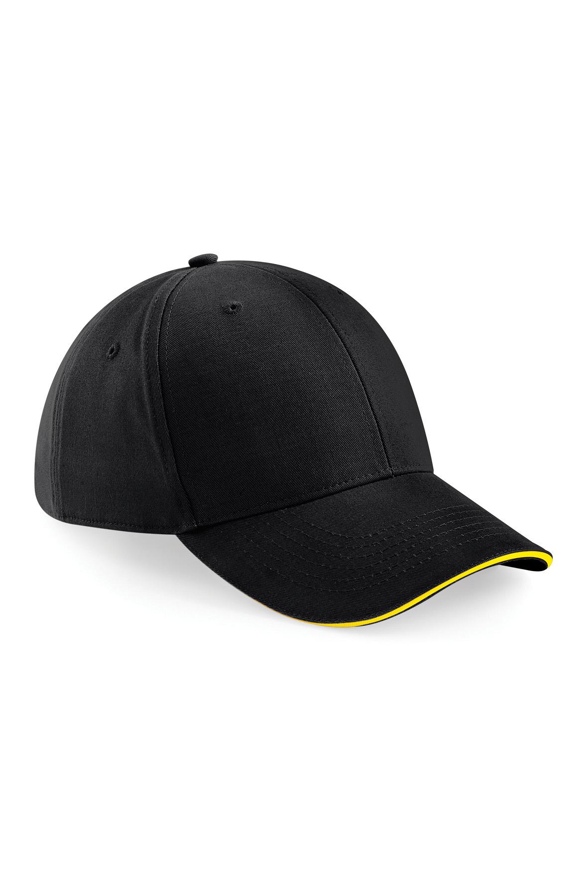 Athleisure Lippis Musta - Keltainen