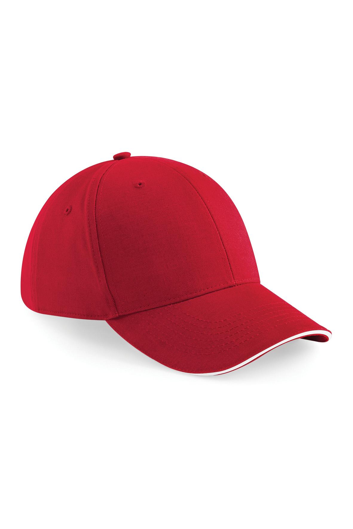 Athleisure Lippis Classic Red - Valkoinen