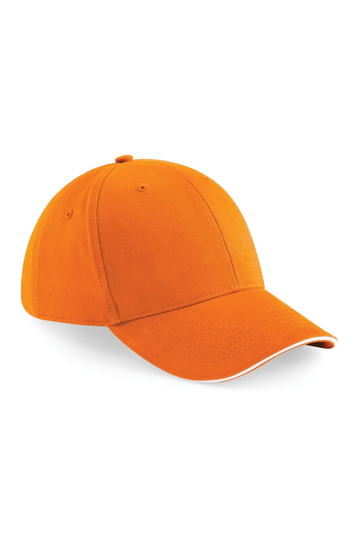 Athleisure Lippis Oranssi - Valkoinen