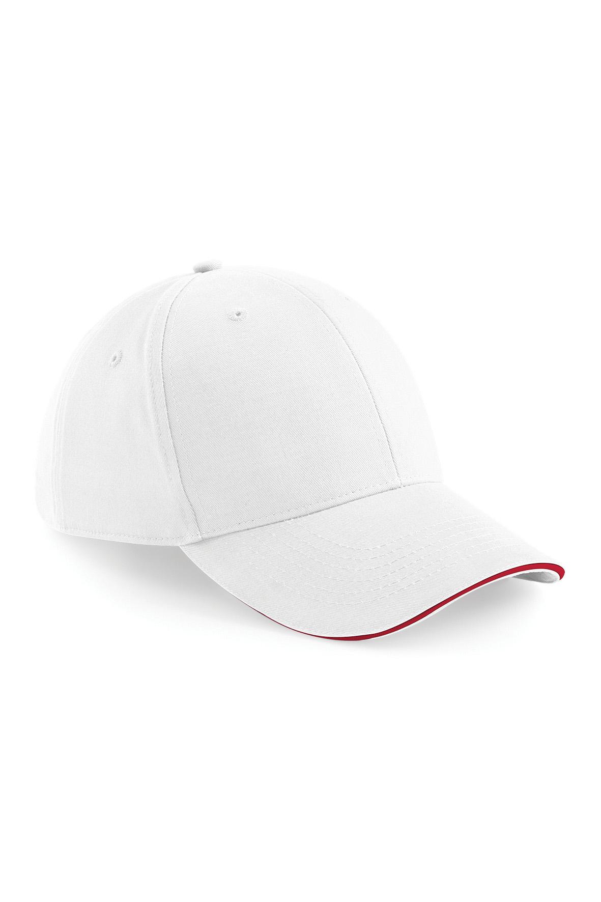 Athleisure Lippis Valkoinen - Classic Red