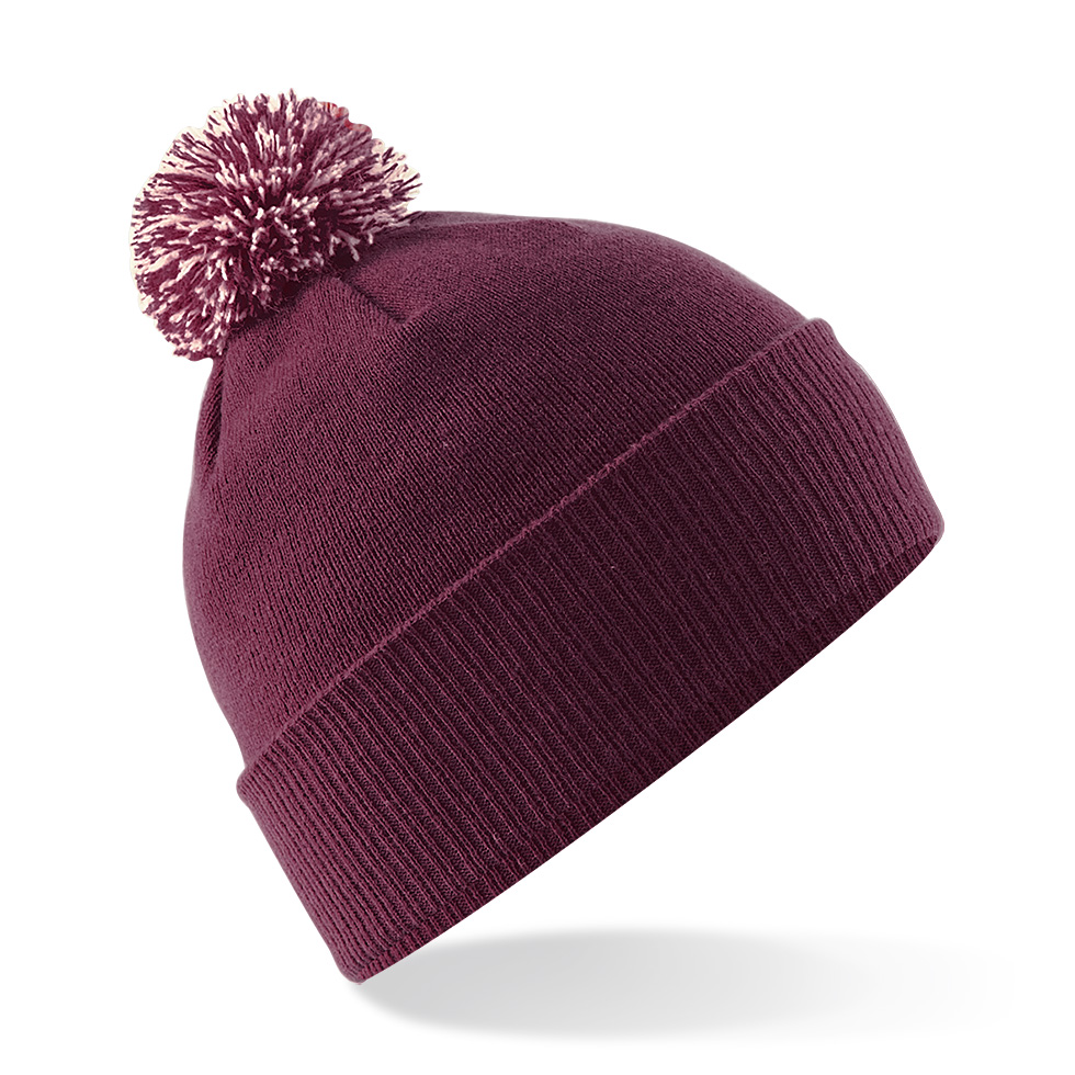 Snowstar Pipo Burgundy - Off White