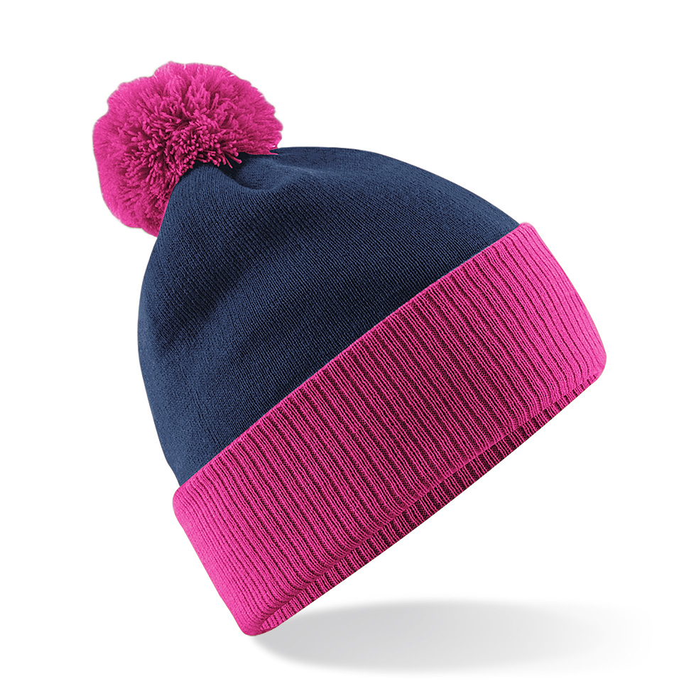 Snowstar Contrast Pipo French Navy/Fuksia