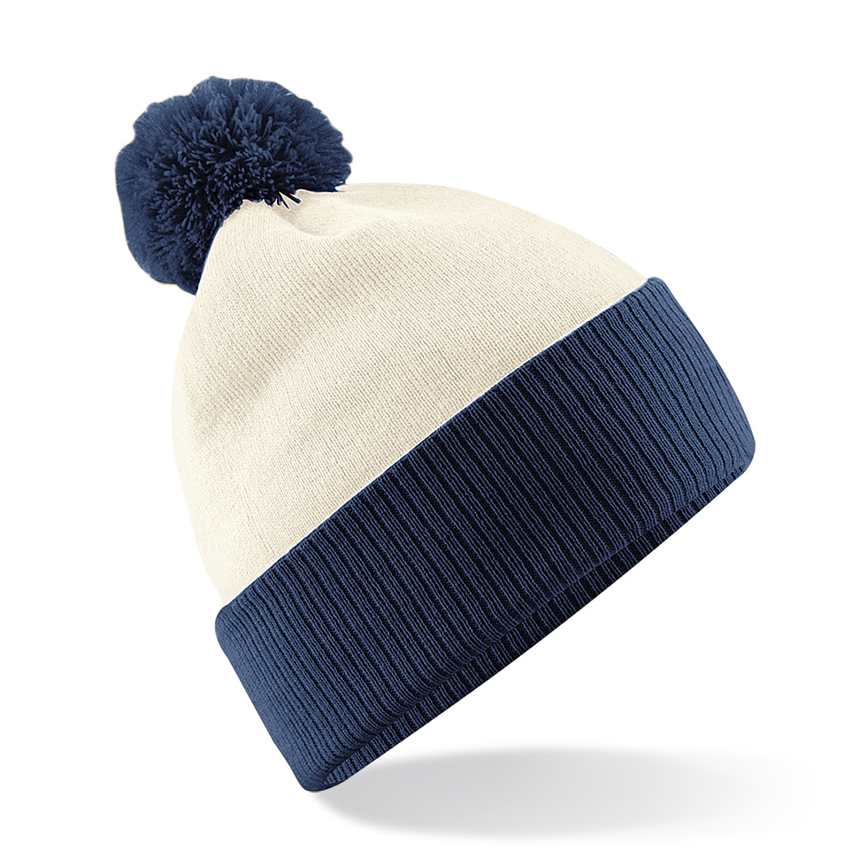 Snowstar Contrast Pipo Off White/French Navy