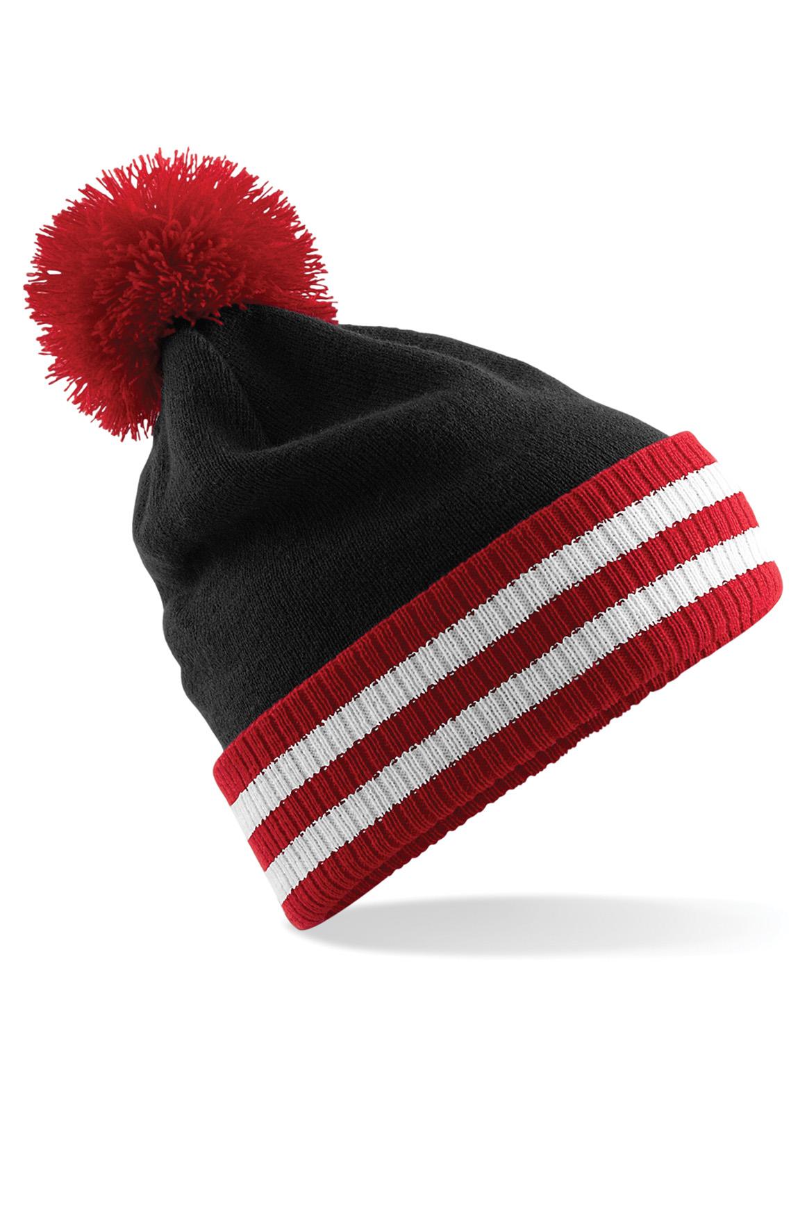 Varsity Tupsupipo Musta - Classic Red - Valkoinen