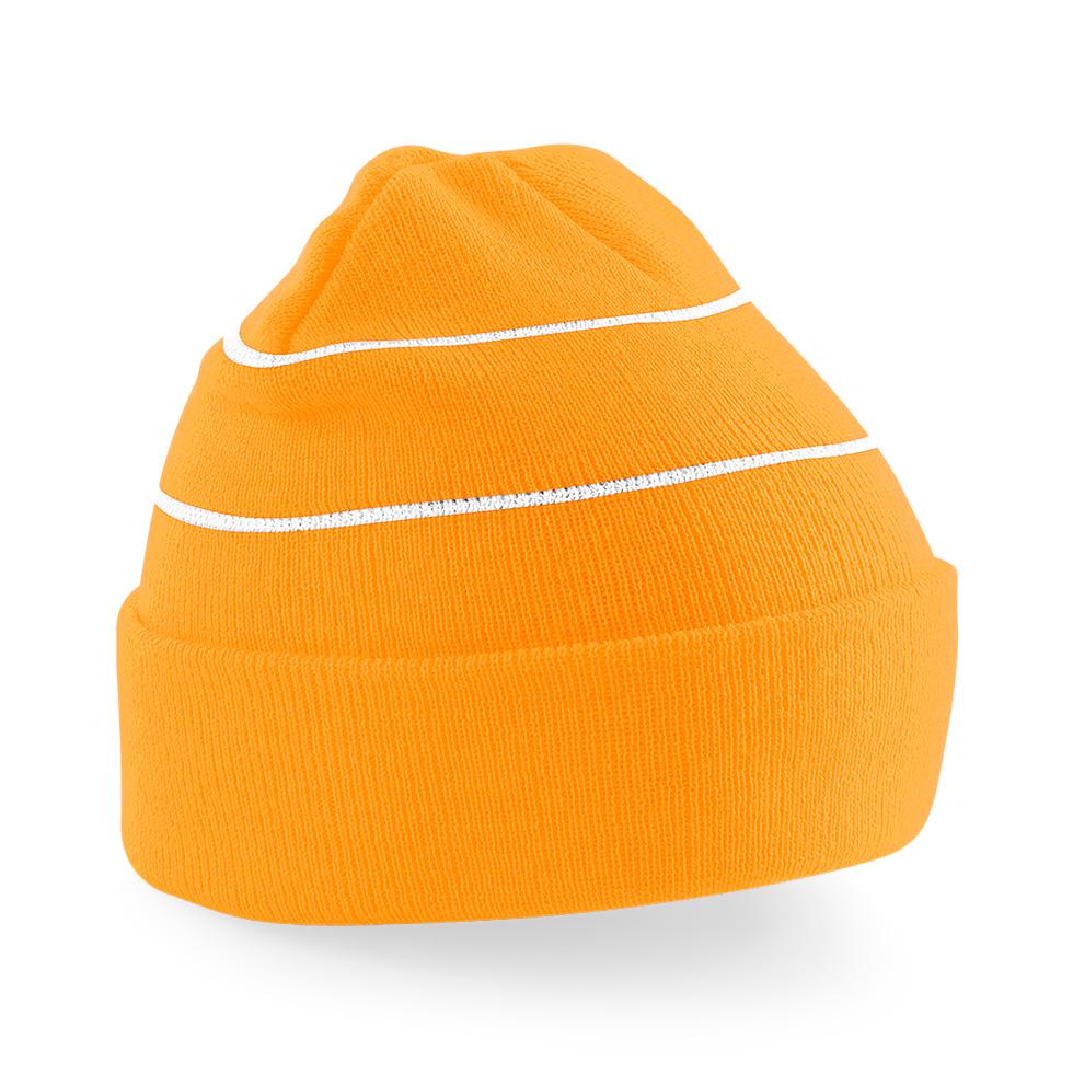 Pipo heijastinraidoilla Huomio-oranssi