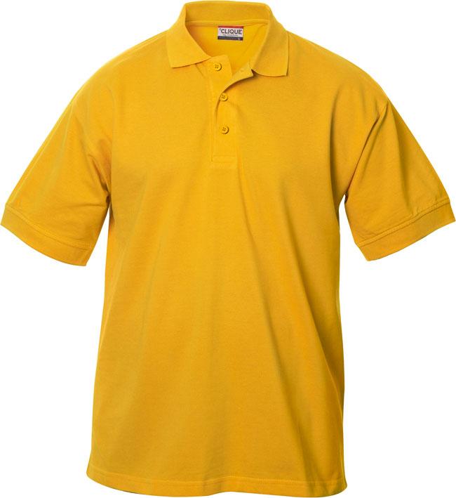 Lincoln Pikeepaita golden yellow