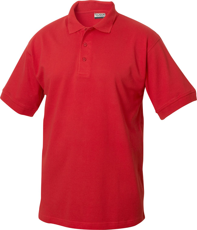 Lincoln Pikeepaita red