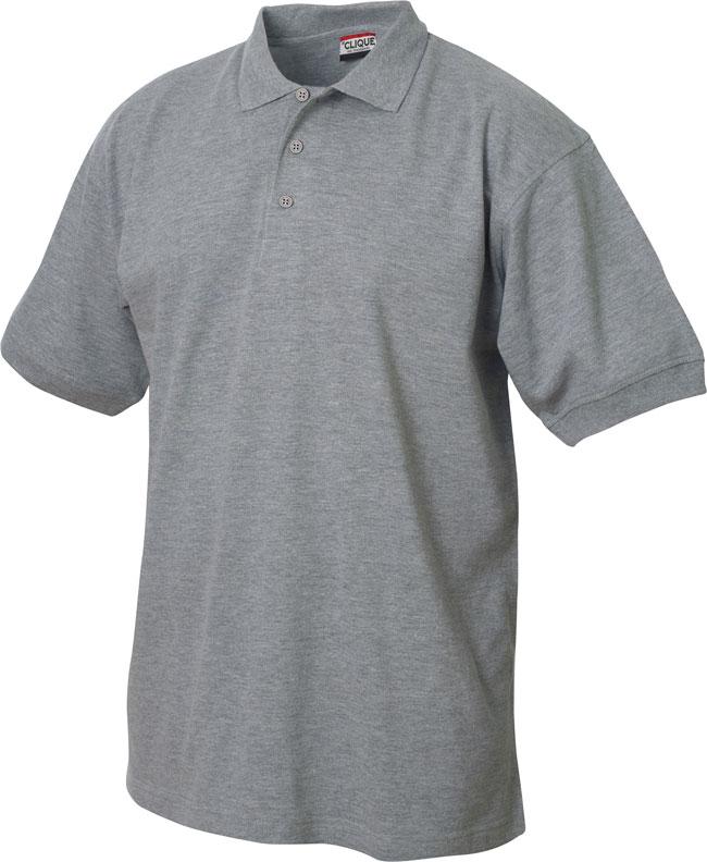 Lincoln Pikeepaita heather grey